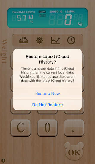 Auto Sync With iCloud
